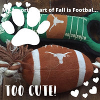 Pets First University of Texas Longhorns Ncaa Football Dog Toy uploaded by Kelli C.