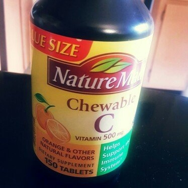Nature Made C Vitamin 500mg Chewable Tablets - 150 CT uploaded by Lena B.