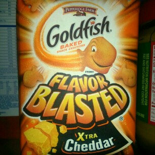 Pepperidge Farm Goldfish: Flavor Blasted Xtra Cheddar Baked Snack Crackers uploaded by Deborah H.
