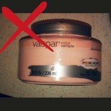 Valspar Baby Blush Interior Satin Paint Sample (Actual Net Contents: 8 Fluid Oz.) 007.0772886.003 uploaded by Amber B.