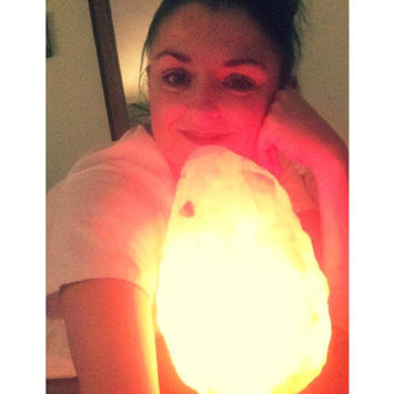 WBM # 1004 Natural Air Purifying Himalayan Salt Lamp With Neem Wood uploaded by Katie W.