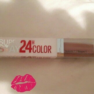 Maybelline Super Stay 24hr Ultimate Red Duo Lips - Amber Allure uploaded by member-d787ff683