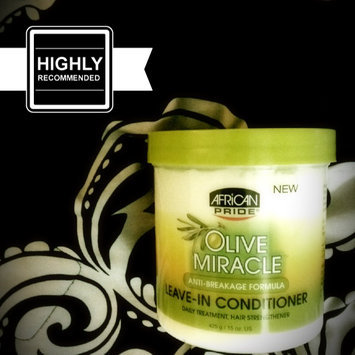 Photo of African Pride Olive Miracle Leave in Conditioner, 15 oz uploaded by Shai C.