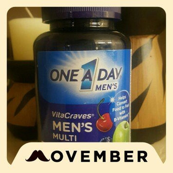 One A Day VitaCraves Men's Multivitamin Gummies, Fruit, 70 ea uploaded by Delalia F.
