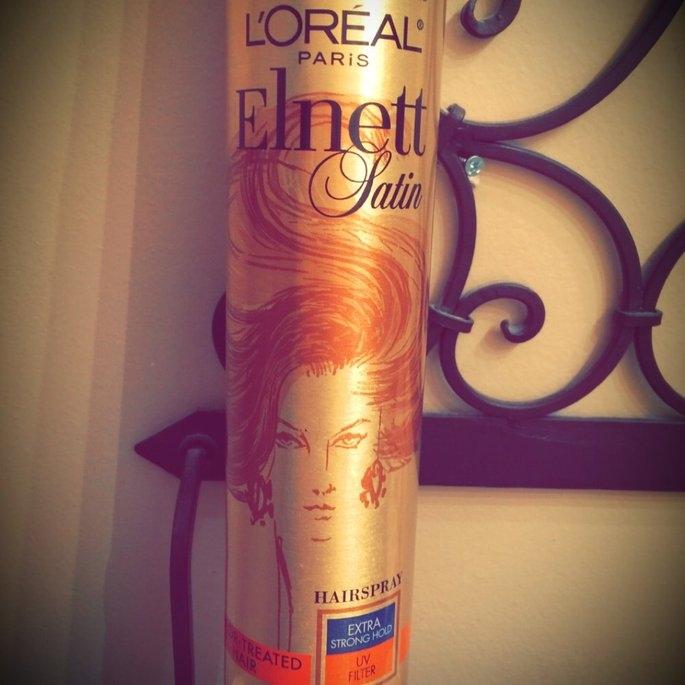 L'Oréal Elnett Satin Hairspray uploaded by Whitney C.
