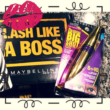 Maybelline Volum'Express Pumped Up! Colossal Waterproof Mascara uploaded by Hali T.