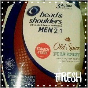 Photo of Head & Shoulders Old Spice 2-in-1 Anti-Dandruff Shampoo + Conditioner uploaded by Velia O.