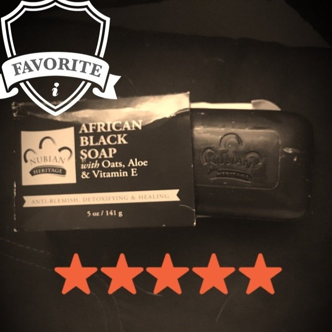 Nubian Heritage African Black Soap uploaded by Patrick J.