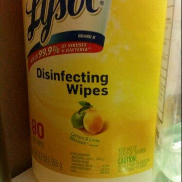 Lysol Disinfecting Wipes - Lemon uploaded by Influenster M.