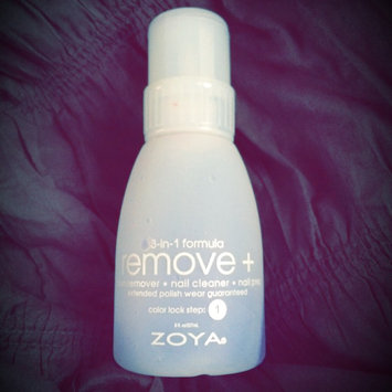 Photo of Zoya Remove Plus Nail Polish Remover uploaded by Marcella B.