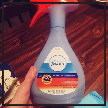 Photo of Febreze Fabric Refresher Fabric Refresher - Tide Original uploaded by Teran F.
