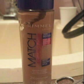Rimmel London Match Perfection Foundation  uploaded by Sarah W.