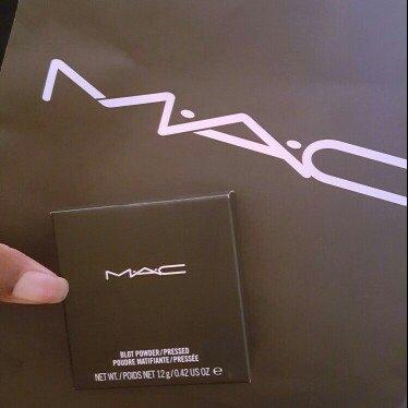 MAC Cosmetics MAC Blot Powder Pressed ~ Dark uploaded by OnDeane J.