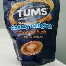 Photo of Tums Chewy Delights, Orange Rush, 32 ea uploaded by Angee L.
