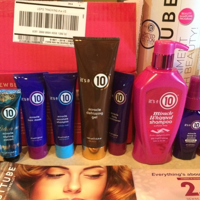 It's A 10 Travel Size Miracle Hair Mask uploaded by Leslie B.