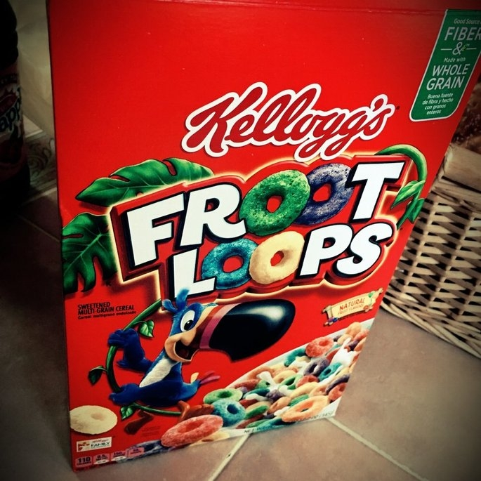 Kellogg's Froot Loops Cereal uploaded by Ashleigh M.