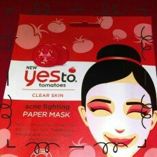Yes to Tomatoes Clear Skin Acne Fighting Sheet Mask uploaded by Amanda Y.