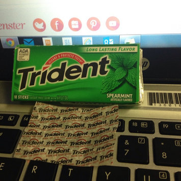 Trident Spearmint Sugar Free Gum uploaded by Jackie L.