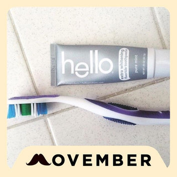 Hello Toothpaste  uploaded by Jamie A.