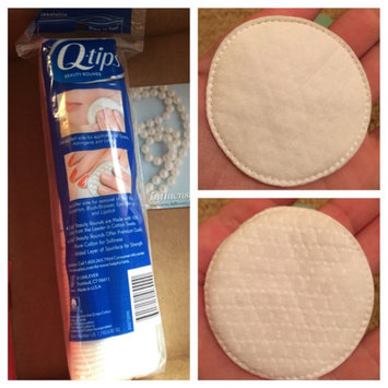 Photo of Q-tips Beauty Cotton Rounds uploaded by Danielle S.