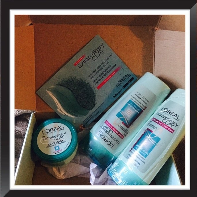 L'Oréal Extraordinary Clay Pre-Shampoo Treatment  Mask uploaded by Manisha K.