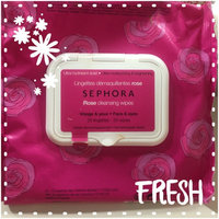SEPHORA COLLECTION Cleansing & Exfoliating Wipes Rose 25 Wipes uploaded by kimberly W.