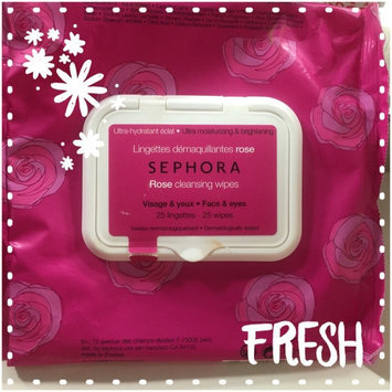 Photo of SEPHORA COLLECTION Cleansing & Exfoliating Wipes Rose 25 Wipes uploaded by kimberly W.