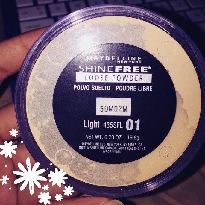 Maybelline Shine Free - Loose Oil Control Loose Powder uploaded by Pamela R.
