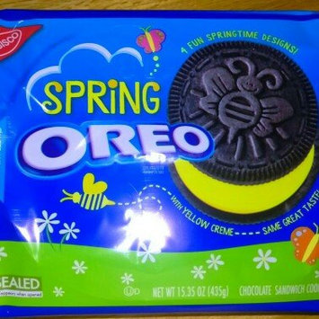 Photo of Nabisco Oreo Sandwich Cookies Spring Chocolate uploaded by Becky M.