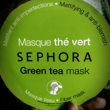 Photo of SEPHORA COLLECTION Face Mask Green Tea Mattifying & Anti-blemish uploaded by Mariah W.