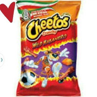 Cheetos® Crunchy Wild Habanero Cheese Flavored Snacks uploaded by Roselin H.