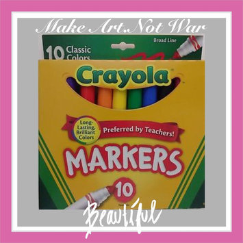 Photo of Crayola 10 Ct Ultraclean Broadline Classic uploaded by RosaMaria P.