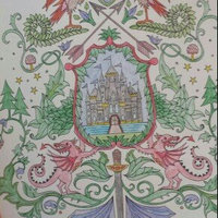 Enchanted Forest: An Inky Quest & Coloring Book uploaded by Megan R.