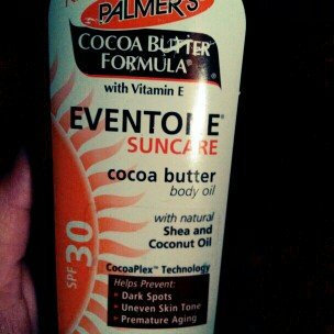 Photo of Palmer Palmer's Palmer's Cocoa Butter Formula with vitamin E, moisturizing body oil 12 fl oz uploaded by Annette R.