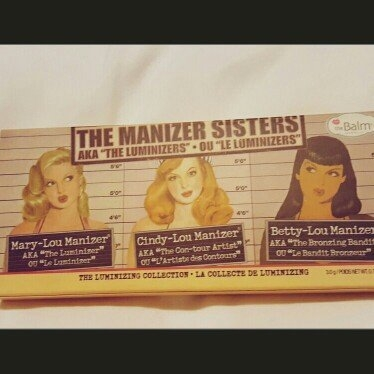 the Balm - the Manizer Sisters Luminizers Palette uploaded by Ethel O.