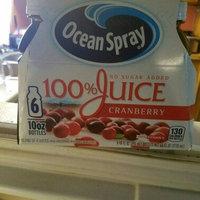 Ocean Spray 100% Juice Cranberry - 6 CT uploaded by Tesla J.