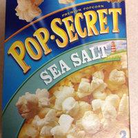 Pop-Secret Premium Popcorn Sea Salt Microwave Bags - 3 CT uploaded by Melissa F.