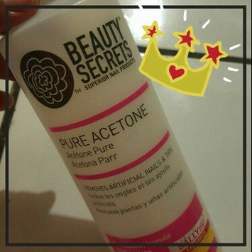 Photo of Beauty Secrets Nourishing Acetone Nail Polish Remover 16 oz. uploaded by Lilliana M R.