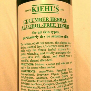 Photo of Kiehl's Cucumber Herbal Alcohol-Free Toner uploaded by Katherine G.