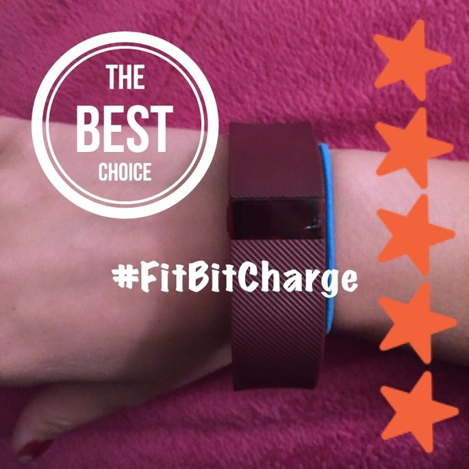Fitbit - Charge Wireless Activity Tracker + Sleep Wristband (small) - Black uploaded by Kelln L.