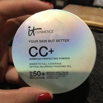 It Cosmetics Your Skin But Better CC+ Airbrush Perfecting Powder SPF50+ uploaded by Janin A.