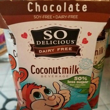 So Delicious Dairy Free Chocolate Coconut Milk uploaded by ashley s.