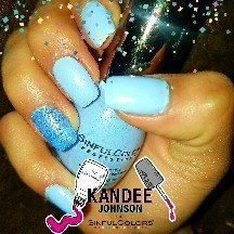 Kandee Johnson for SinfulColors: Anime uploaded by Genessis S.