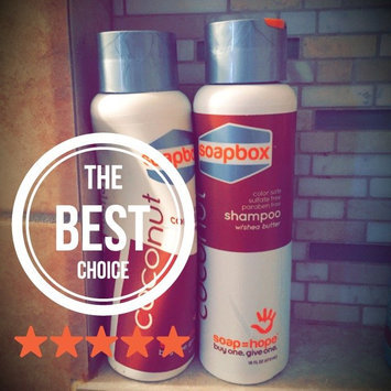 Photo of SoapBox™ 16 oz. Shampoo - Coconut Oil uploaded by Michaela S.