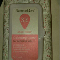 Summer's Eve Cleansing Cloths for Sensitive Skin uploaded by Aubri W.
