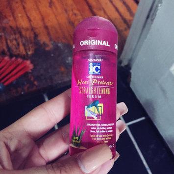 Photo of Fantasia IC Heat Protector Straightening Serum 2 Oz. [] uploaded by Kayla B.