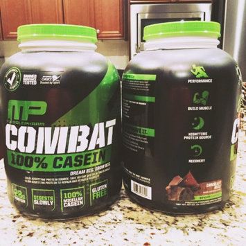 Photo of Muscle Pharm Combat Casein Supplement, Vanilla, 4 Pound uploaded by Andrea C.