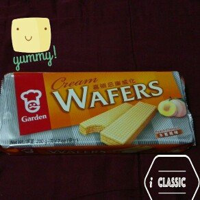 Garden Peach Wafers # B3457, 7-Ounce (Pack of 8) uploaded by Sreymean P.