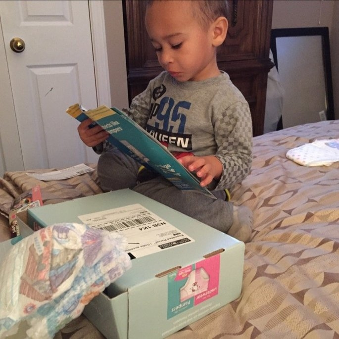 Pampers® Easy Ups™ uploaded by Christine M.