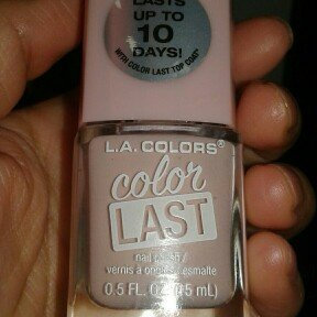 L.A. Colors Color Last Nail Polish, 0.5 fl oz uploaded by yaneth l.